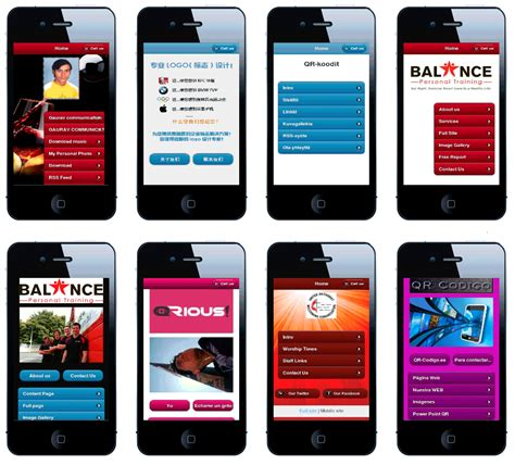 mobile marketing websites mobile landing page exles by mobile websites design