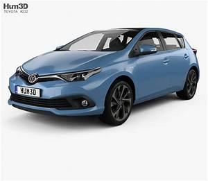 Toyota Auris 2015 : toyota auris hatchback hybrid 2015 3d model humster3d ~ Medecine-chirurgie-esthetiques.com Avis de Voitures