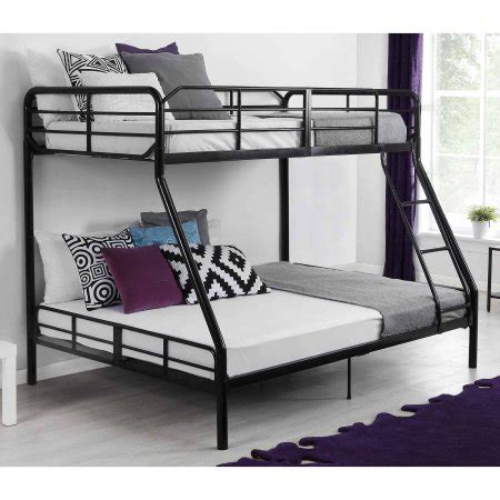 mainstays twin over full bunk bed walmart com