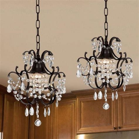 wrought iron mini chandelier light fixtures
