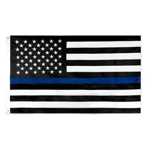black and white bedding ideas thin blue line flag 3x5 stitched flag