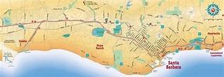 Large Santa Barbara Maps for Free Download and Print ...