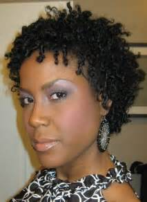 Short Hairstyles for Black Women Natural Hair Twist