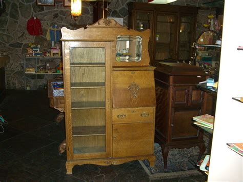 Antique Oak Secretary  Antique And Retro Furniture