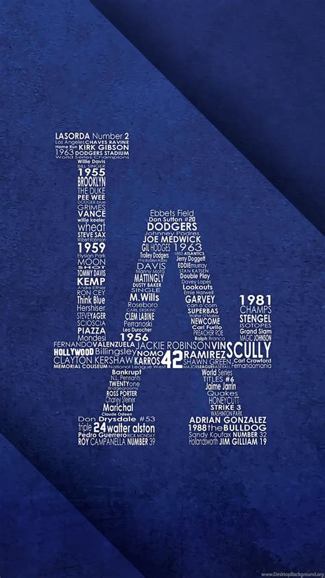 los angeles dodgers wallpapers baseball sport wallpapers