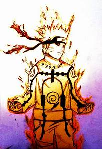 Naruto- Nine Tails Chakra Mode by JeiGoWAY on DeviantArt
