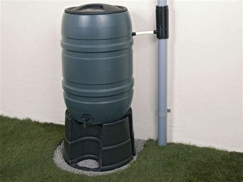 How To Install A Rainwater Diverter And A Rain Barrel