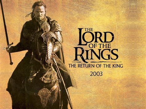 Poster Rezolutie Mare The Lord Of The Rings The Return Of
