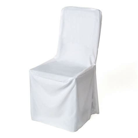 To Cover Chairs by Square Top Banquet Chair Cover Ebay