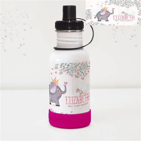 personalised stainless steel kids drink bottle water bottles