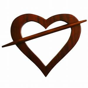 Embrasse Pour Rideaux : embrasse coeur en bois pour rideaux ~ Teatrodelosmanantiales.com Idées de Décoration
