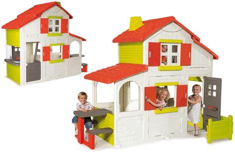 maison duplex smoby cabane enfants plastique oogarden
