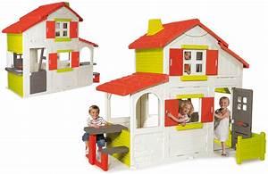 Cabane Enfant Plastique : maison duplex smoby cabane enfants plastique oogarden france ~ Preciouscoupons.com Idées de Décoration