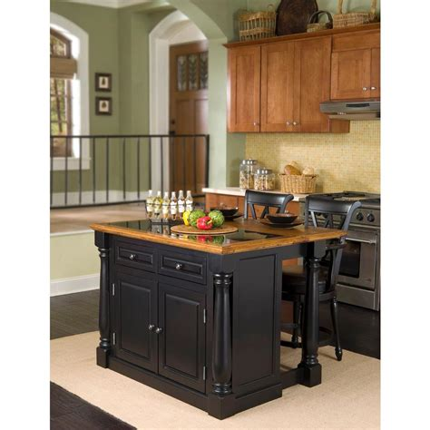 black kitchen island with granite top home styles monarch black kitchen island with seating 5009