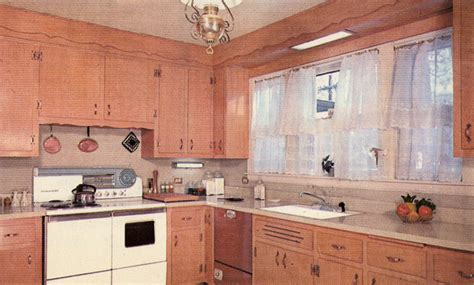 wood used for kitchen cabinets decorating a 1960s kitchen 21 photos with even more 1954