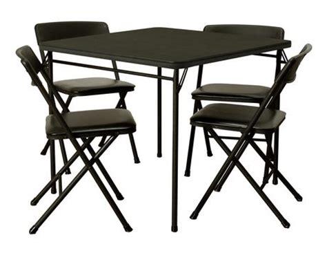 cosco folding chairs walmart cosco 5 folding table and chair set walmart ca