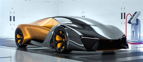 Lamborghini Rendering Imagines The Gold Standard Of
