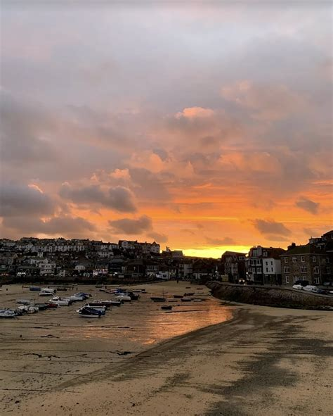 Sunset in Cornwall, UK | What Laura Did Next | St ives ...