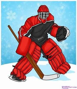 How to Draw a Goalie, Step by Step, Sports, Pop Culture ...