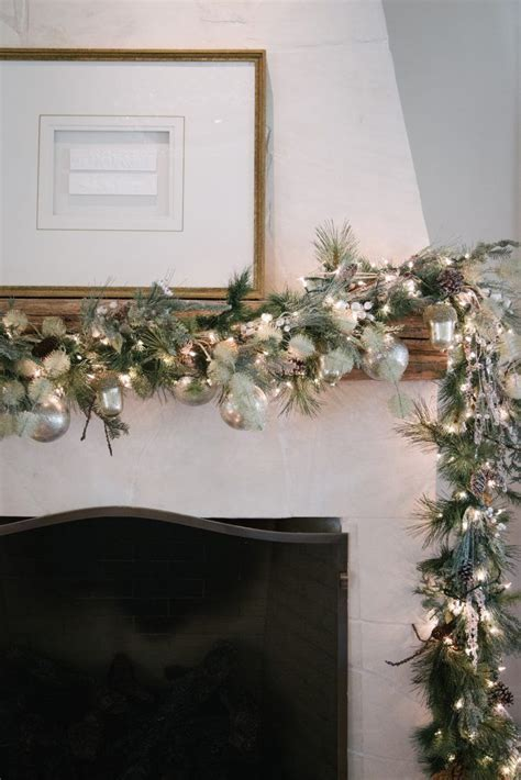 fireplace garlands best 25 fireplace garland ideas on mantle