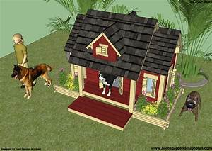 Free winter dog house plans cool high school wood projects for Free dog house plans