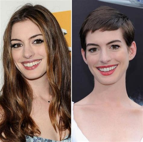 Radical Change Hairstyles Celebrities Length Matters Page 1
