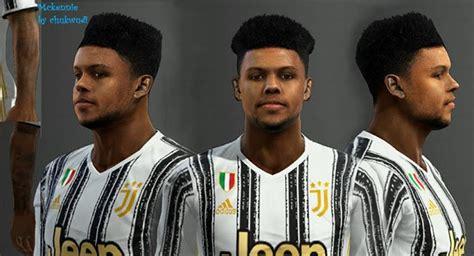 ultigamerz: PES 2013 Weston McKennie (Juventus) Face 2020-21