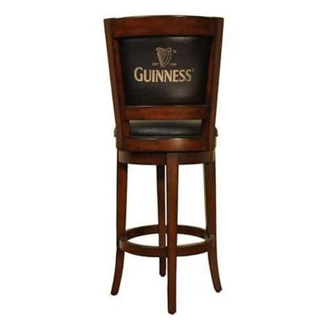 guinness swivel bar stool
