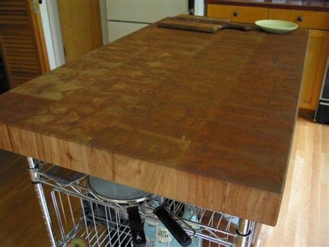 Custom Butcher Block Island Top By Greenriverwoods