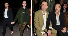 Nick Grimshaw looks loved up with boyfriend Meshach Henry ...