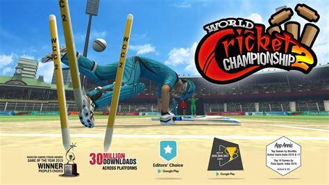 world cricket chionship 2 apk free sports