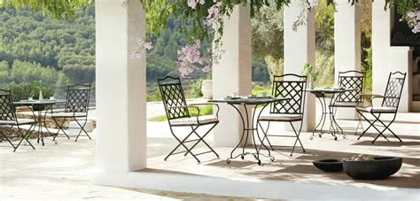 black rod iron patio furniture outdoor dining benches archives kirkland bellevue