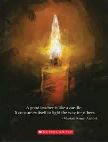 Candles Teacher Appreciation Quotes