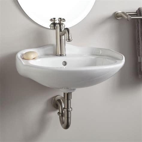 wall mount bathroom sink faucet victorian mini porcelain wall mount sink bathroom
