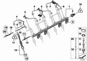 Bmw X1 Bracket Injector  Fuel  System