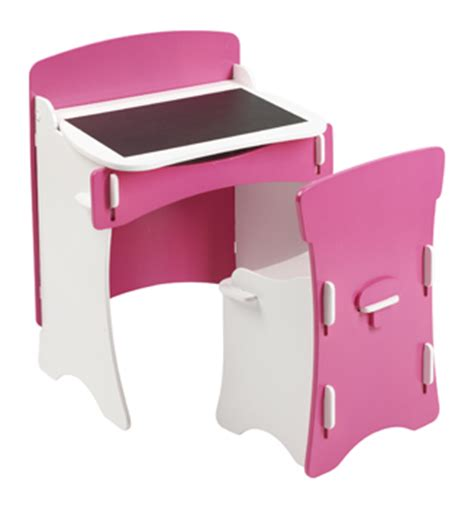 girls white desk and chair blush kids desk and chair set bright pink and white girls