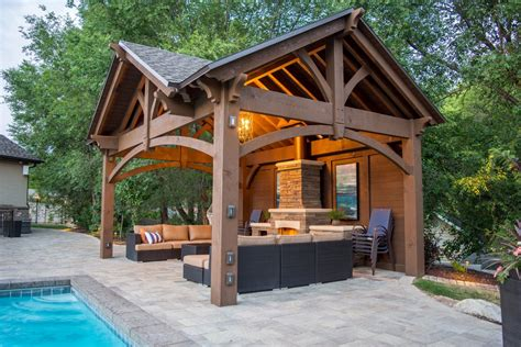 simple two house plans 3rd gable pavilion w privacy wall fireplace