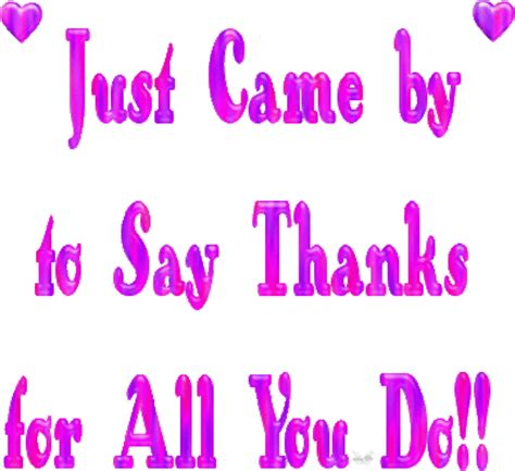Thanks For All You Do  Thank You Myniceprofilecom