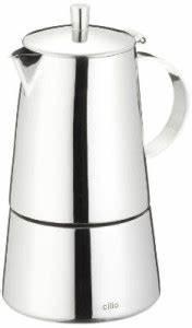 Espressokocher Edelstahl Elektrisch : espressokocher in edelstahl elektrisch f r induktion im test ~ Watch28wear.com Haus und Dekorationen