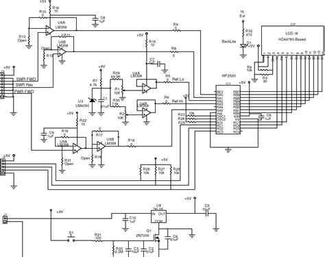 lazure bench swr and power meter schematics