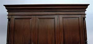 Mahagoni Farbe Holz : kleiderschrank mahagoni massiv farbe dunkelbraun walnuss kaufen bei manfred kiep einzelhandel ~ Orissabook.com Haus und Dekorationen