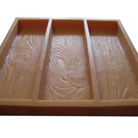 stepping stone molds wood grain ws
