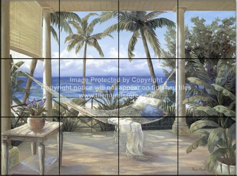 backsplash designs beach scene tiles tropical porch ii