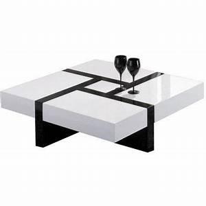 Table Salon Carrée : table basse ~ Teatrodelosmanantiales.com Idées de Décoration