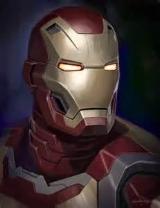 Iron Man Helmet Concept Art