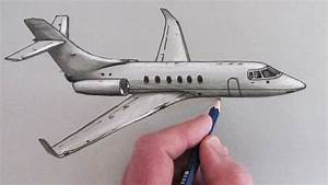 How to Draw an Airplane - YouTube