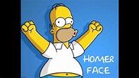 Homer Face - Homer Simpson - YouTube