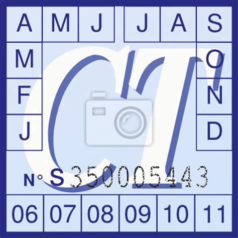 bureau de contrle technique tableau vignette de controle technique d 233 tour 233 posters et tableaux sur toile pixers fr