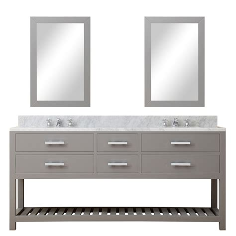 gray double sink vanity cadale 72 inch gray finish double sink bathroom vanity one