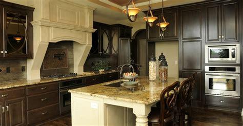 light island  dark cabinets home kitchens kitchen